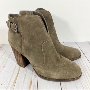 Gianni Bini Brown Suede Ankle Booties 8